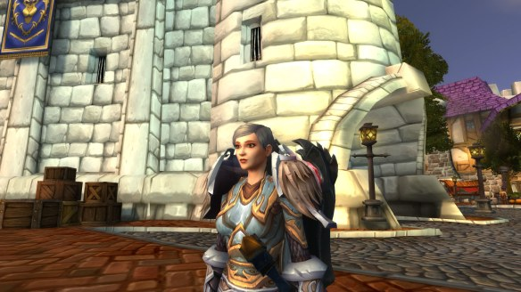 My paladin's new, more wizened look in World of Warcraft: Legion