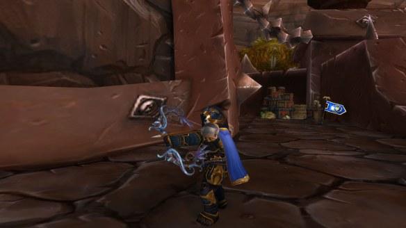 My Pandaren hunter in World of Warcraft: Legion