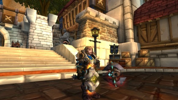 "My warrior's perfected ""mountain queen"" look in World of Warcraft: Legion"