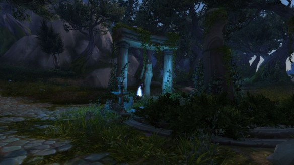 The Azsuna zone in World of Warcraft: Legion
