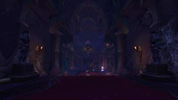 The Black Rook Hold dungeon in World of Warcraft: Legion