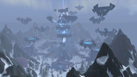 The Coldarra region in World of Warcraft