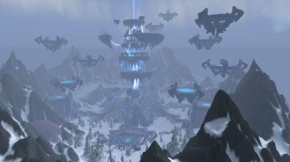 The Coldarra region in World of Warcraft