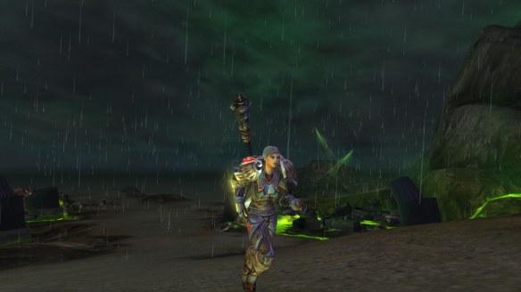 My paladin seeks Ashbringer in World of Warcraft: Legion