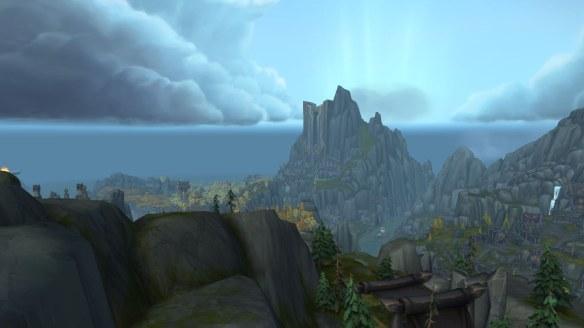 The Stormheim zone in World of Warcraft: Legion