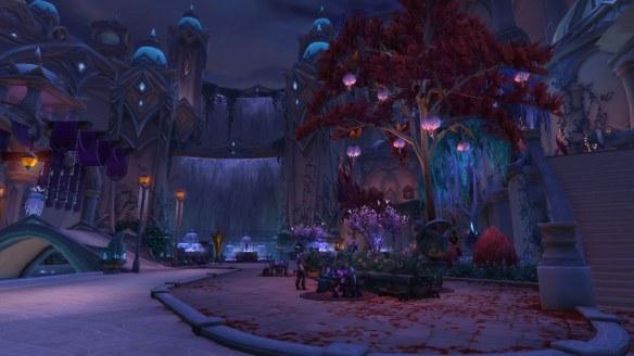 The Suramar zone in World of Warcraft: Legion