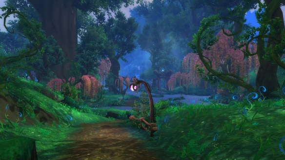 The Val'sharah zone in World of Warcraft: Legion