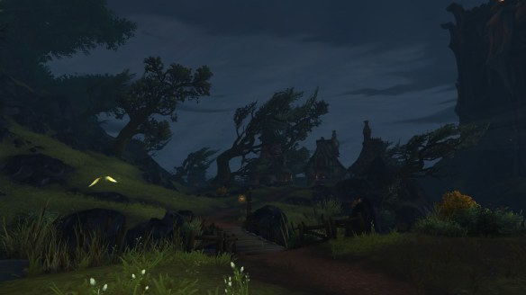 The bleak coast of Val'sharah in World of Warcraft: Legion