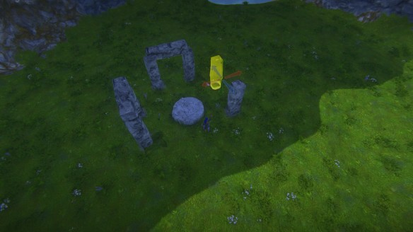 "Constructing ""Stonehenge"" in my second Landmark build"