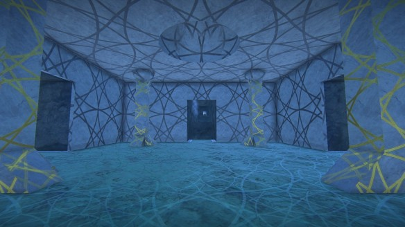 The finished tunnels in my second Landmark build