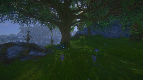 The trees in my second build in Landmark