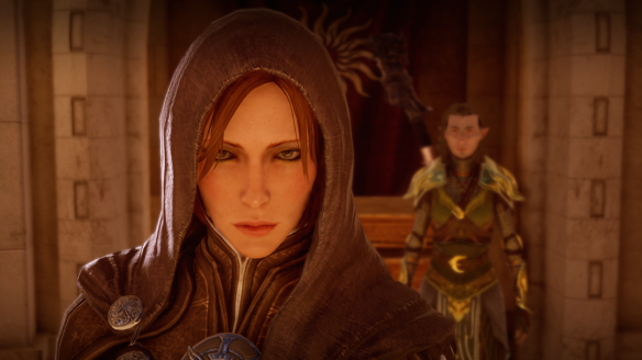 Leliana in Dragon Age: Inquisition