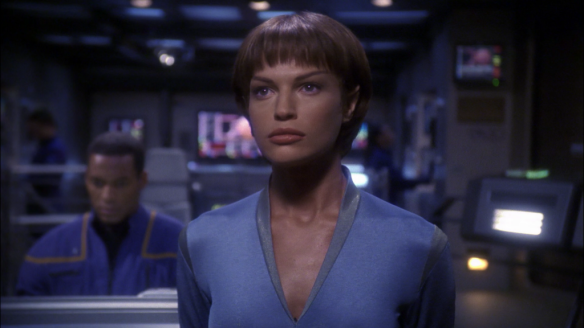 Jolene Blalock as T'Pol in Star Trek: Enterprise