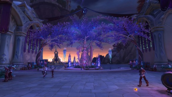 The city of Suramar in World of Warcraft: Legion