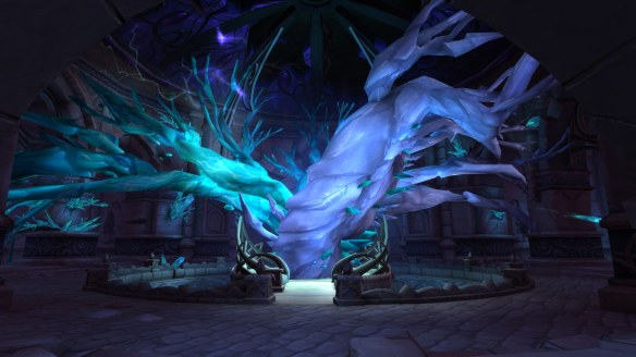 The Shattered Locus beneath Suramar in World of Warcraft: Legion