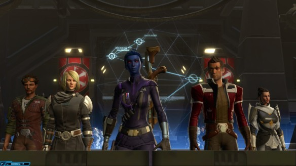 The Odessen Alliance in Star Wars: The Old Republic's Knights of the Fallen Empire expansion