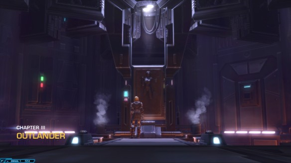 The opening of chapter three in Star Wars: The Old Republic's Knights of the Fallen Empire expansion