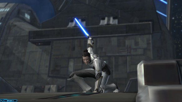 Senya Tirall in Star Wars: The Old Republic's Knights of the Fallen Empire expansion