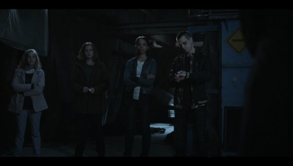 A shot from the pilot of Travelers