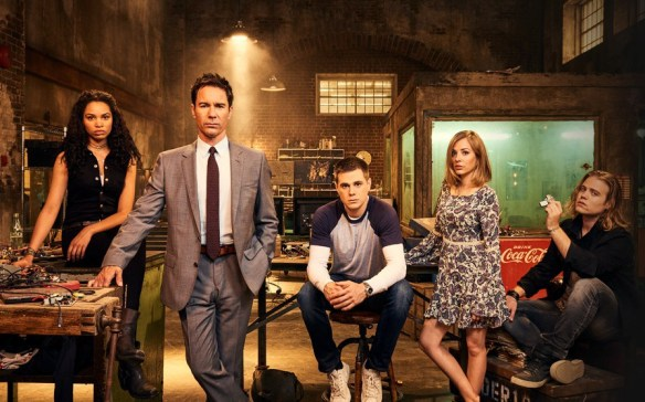 The cast of Travelers