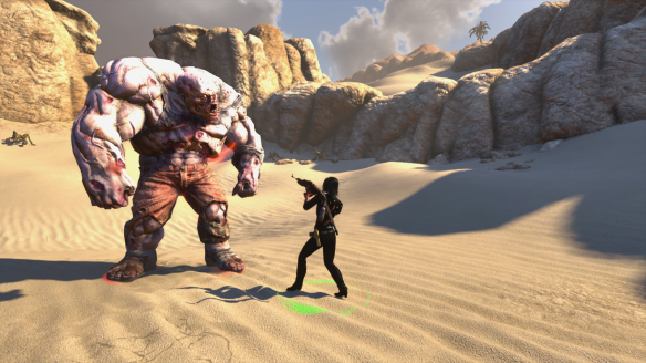 Battling zombies in Egypt as part of The Secret World's Rider event
