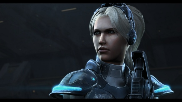 Nova in her titular Covert Ops DLC in StarCraft II