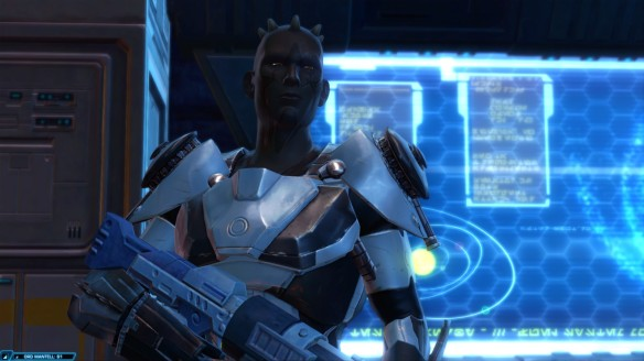 My trooper in Star Wars: The Old Republic