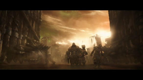 A deleted scene from the Warcraft film