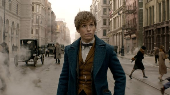 Eddie Redmayne as Newt Scamander in Fanatstic Beasts and Where to Find Them