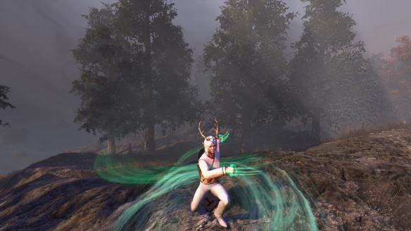 My latest character in The Secret World practices her chaos magic