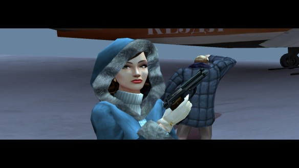 Cate Archer in No One Lives Forever 2: A Spy in H.A.R.M.'s Way