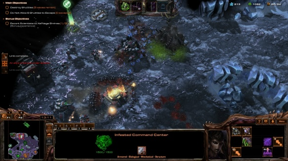 Stukov wears down the enemy in StarCraft II's co-op