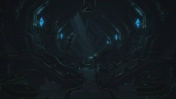 A vault within the depths of Ulnar in StarCraft II: Legacy of the Void