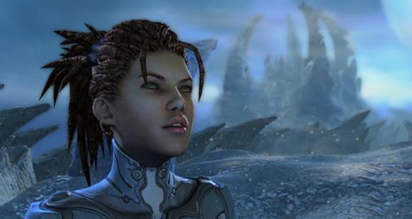 Sarah Kerrigan in StarCraft II: Heart of the Swarm