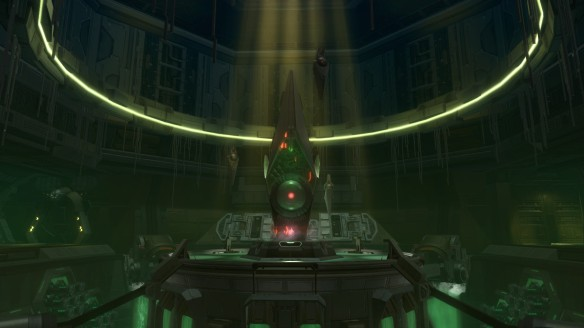 The planet Iokath in Star Wars: The Old Republic's Knights of the Eternal Throne expansion