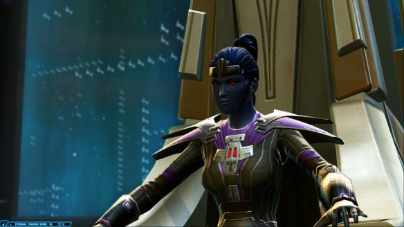 My agent claims the Eternal Throne in Star Wars: The Old Republic