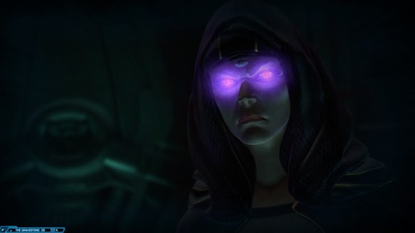 Empress Vaylin in Star Wars: The Old Republic's Knights of the Eternal Throne expansion