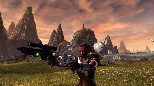 My smuggler  in Star Wars: The Old Republic