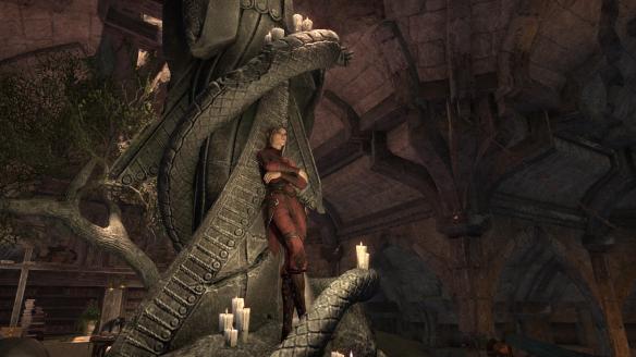 Quen being badass in Elder Scrolls Online's Thieves Guild DLC
