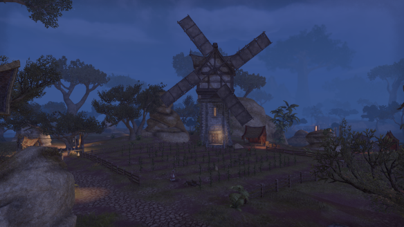 A windmill in the Reaper's March zone in Elder Scrolls Online