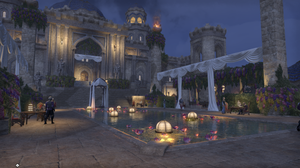 Infiltrating a party in Elder Scrolls Online's Thieves Guild DLC