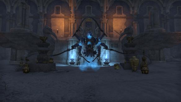 A boss enemy in Elder Scrolls Online's Thieves Guild DLC