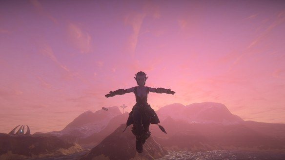 Soaring across the ocean in Landmark