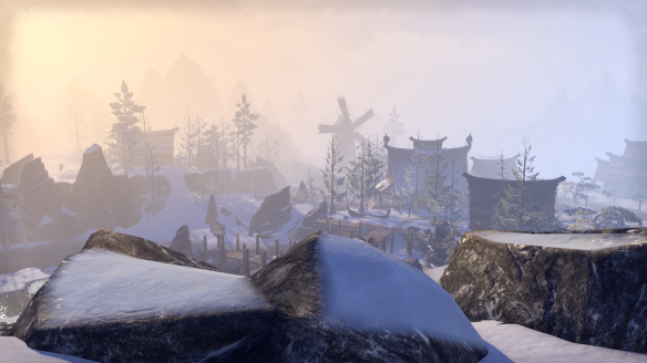 The Ebonheart Pact starting zone of Bleakrock Isle in Elder Scrolls Online