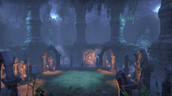 An ancient crypt in the main quest in Elder Scrolls Online