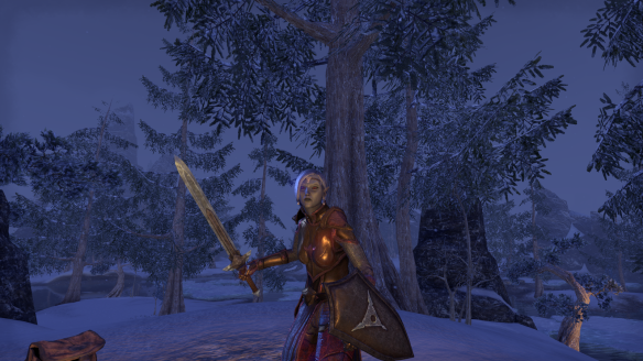 My new Dunmer templar in Elder Scrolls Online