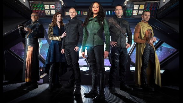 The cast of Killjoys
