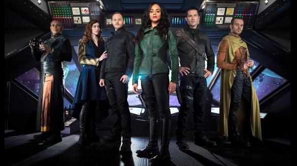 The cast of Killjoys