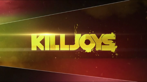 The logo for Killjoys