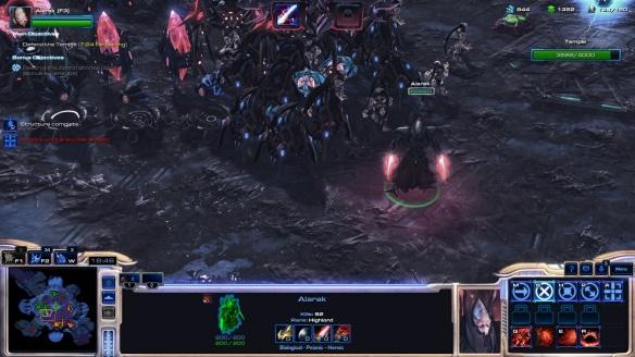 Alarak in StarCraft II's co-op mode